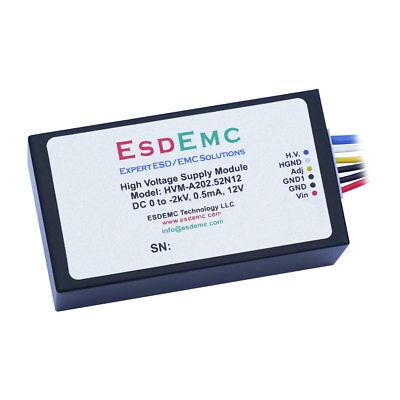 0 To -2kv Adjustable 0.5ma 12v High Voltage Dc-dc Power Supply Modules