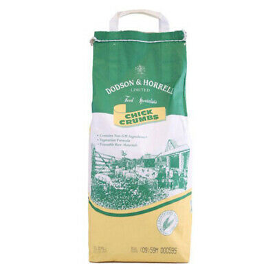 POULTRY CHICK CRUMBS: Dodson & Horrell Starter Chicken Crumbs 5kg BAG (DH234)