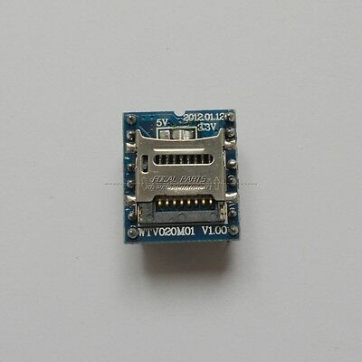 U-disk audio player SD card voice MP3 Sound module WTV020-SD-16P Arduino N54