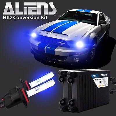 HID Conversion Kit H11 9006 9004 9007 Headlight &Fog Light All Bulb Size & Color