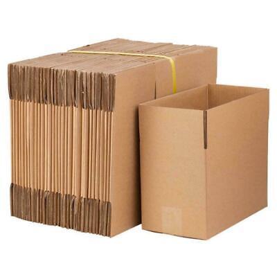 100pcs 8x6x4 6x4x2 4x4x4 Cardboard Boxes Mailing Moving Packing Shipping Box