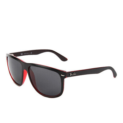 Ray-Ban RB4147 617187/60 Red Matte Black Grey Sonnenbrille
