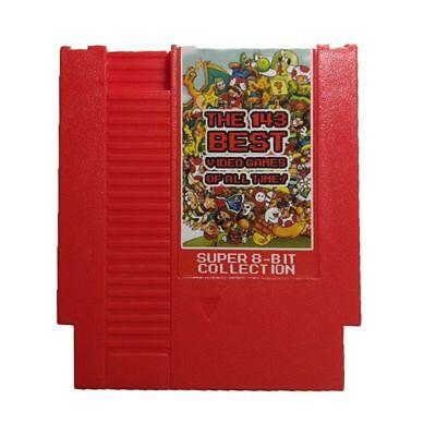143 in 1 Classic NES Nintendo Game Cartridge Seller/Shipper!