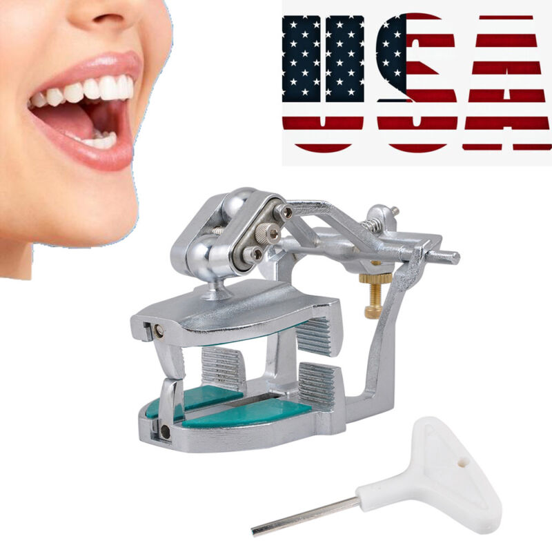 【USA】 Adjustable Magnetic Articulator Dental Equipment TO hold any teeth model