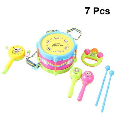 5Pcs/Set Baby Boy Girl Drum Musical Instruments Drum Set Children Band Toys...