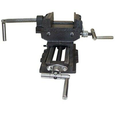 3 Jaw 2 Way Cross Slide Vise Drill Press Heavy Clamp Vise Holder
