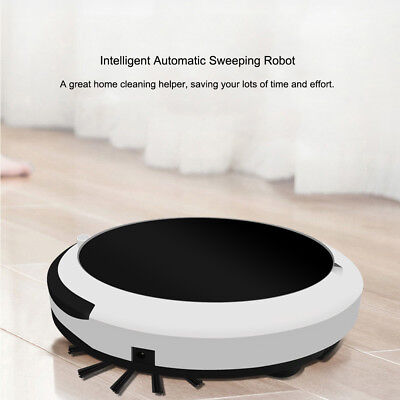 Smart Robotic Vacuum Cleaner Robot Microfiber Mop Large Suction Sweeper Q2T3
