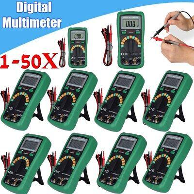 Digital Dt9205a Multimeter Lcd Acdc Ammeter Resistance Capacitance Testermeter
