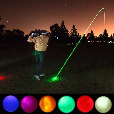 LED Light Up Night Golf Balls Ultra Bright Glow in the Dark Nighthawk Sports New](Golf Ball Led)