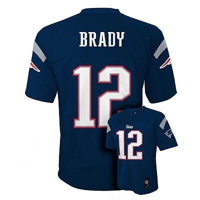 2017 2018  New England Patriots Tom Brady Nfl   55  Jersey Youth Kids Boys  Xl