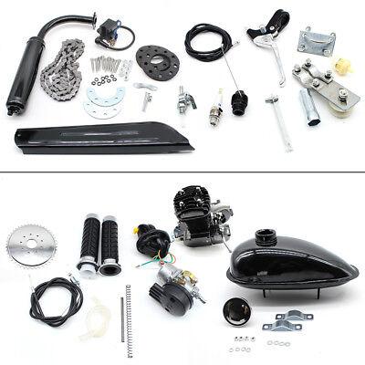 2 tiempos 80cc motor silenciador motor de bicicleta eléctrica kit de gas...