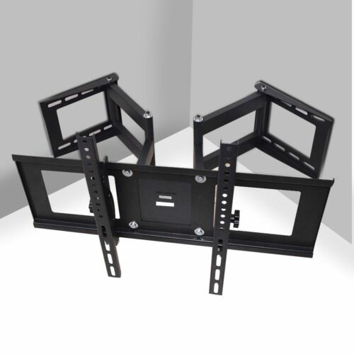 Articulating TV Wall Mount Corner Bracket Holder Rack Hanger
