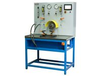 Test bench for diagnostics of single- and double-circuit pumps with mechanical drive