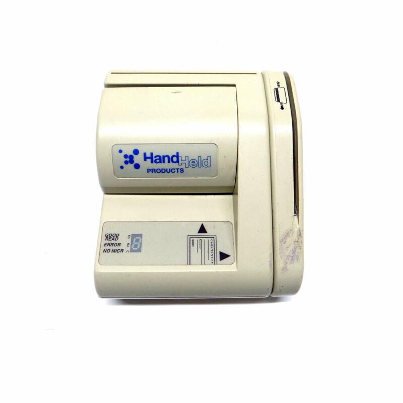 Hand Held Products by Honeywell 8300-4113 MICR Check Scanner, REV. 3.0