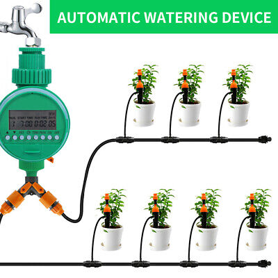 Garden Automatic Irrigation System Digital LCD Electronic Water Timer Controller