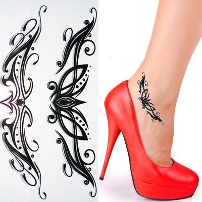 Einmal Tattoo Ornament - Temporary Tattoo Aufkleber Temporäre Tattoos RC220