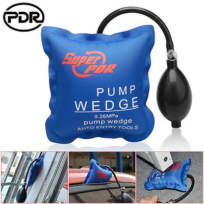 Inflatable Car Air Pump Wedge Door Window Furniture Shim Auto Hand Tool Oxford