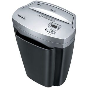 Fellowes Powershred W-11C Sheet Cross-Cut Heavy Duty Paper, Credit Card Shredder