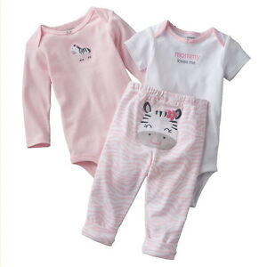 Preemie Newborn Baby Girl Clothes Outfit Shirts Pants
