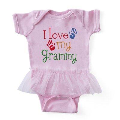 CafePress - I Love My Grammy - Baby Tutu Bodysuit