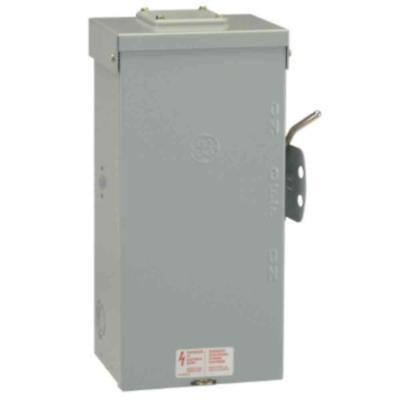 Emergency Power Transfer Switch Non Fused Generator Manual GE 100 Amp 240 Volt 100 Amp Generator Transfer Switch