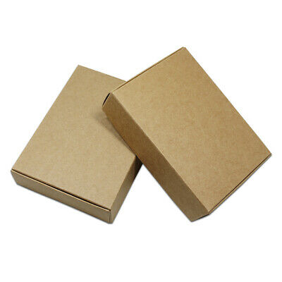 Colorful Kraft Paper Boxes For Wedding Party Candy Jewelry Crafts Gift Packaging