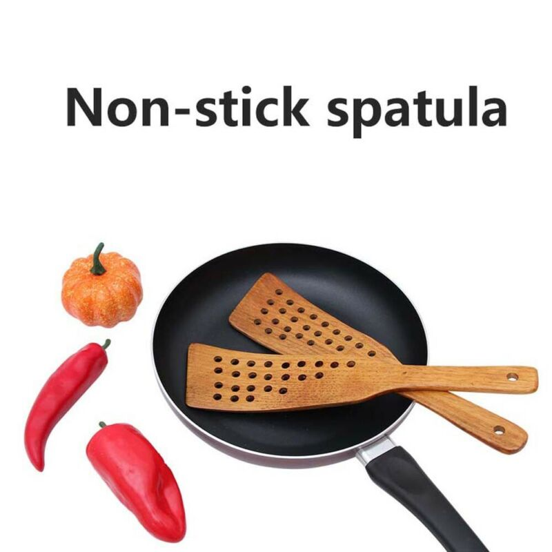 Wooden Spatula Wood Shovel For Non-stick Pan Rice Spoon Kitchen Cookware Gadgets