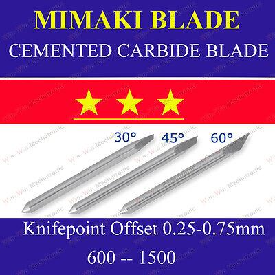 5x Hq 60 Cemented Carbide Blades For Mimaki Cutting Cutter Vinyl Plotter