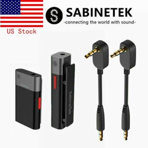 SmartMike+AudioWow-Wireless Bluetooth Audio Studio Lavalier Microphone+Cable Kit