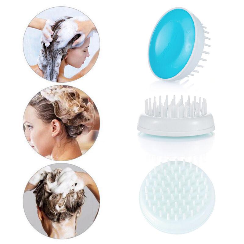 Resin Cleaning Scrubber Hair Scalp Massager Shampoo Brush He