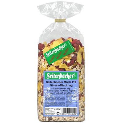 (13,81€/1kg) Seitenbacher Fitness-Mischung (750g)  - Müsli
