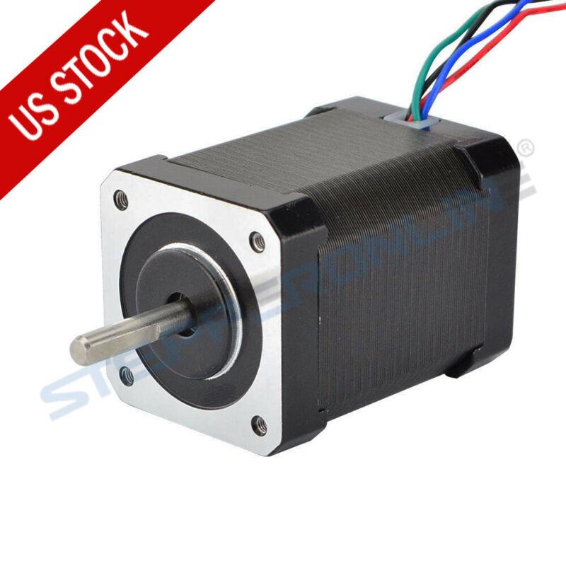 High Torque Nema 17 Stepper Motor 92oz.in 2.1A 4 Wires CNC 3D Printer Extruder