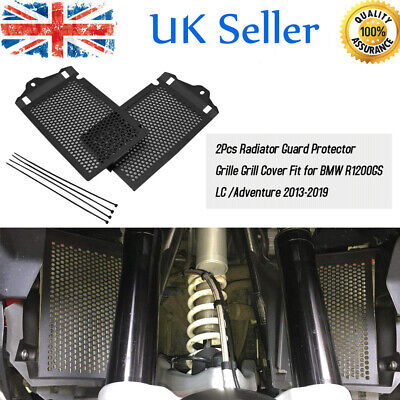 Pair Radiator Guard Protector Grille Grill Cover for BMW R1200GS Adventure 13-19
