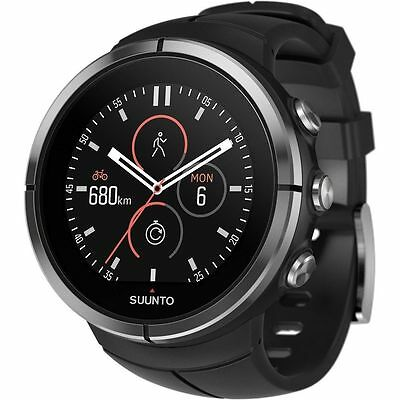 Suunto Spartan Ultra Stealth Chest Heart Rate Monitor Watch SS022656000