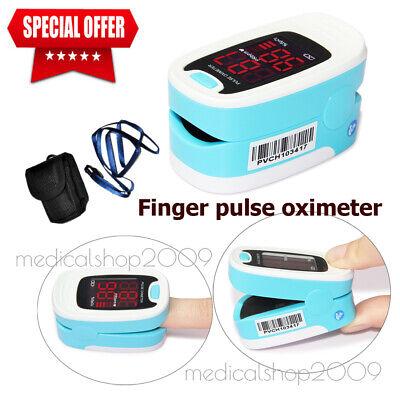 2020 Led Fingertip Pulse Oximeter Blood Oxygen Spo2 Monitorhome Care