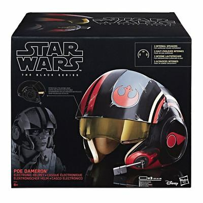 Poe Dameron Elektronischer Helm Black Series, Star Wars Episode VIII, Hasbro