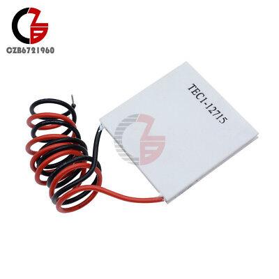 5pcs Tec1-12715 Heatsink Thermoelectric Cooler Cooling Peltier Plate Module
