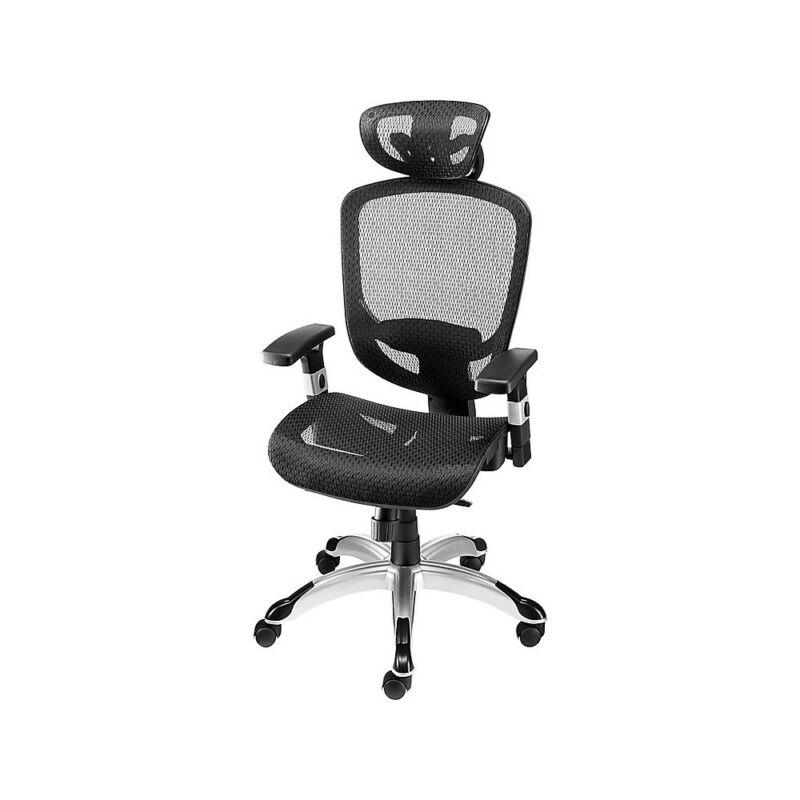 Staples Hyken Technical Mesh Task Chair Black 990119