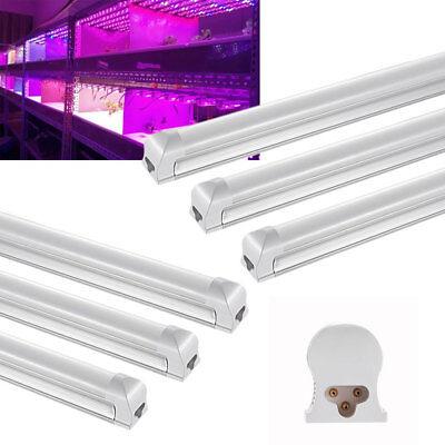 6X 90cm 3FT LED Grow Light Full Spectrum Hydroponic T8 Fluorescent for Veg Plant