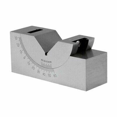 Precision Angle Block 0-60 Degree 3 Inch X 1 Inch X 1-14 Inch V Block Gauge