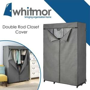 Lightly Used Whitmor Double 6779-4866 Rod Closet Cover Condtion: Lightly Used