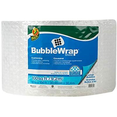 Brand Large Bubble Wrap Roll 516 Cushioning 12 X 100 Perforated Every
