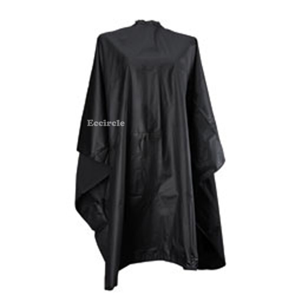 1 Size Fit All Black Barber Hair Cutting Cape Style Shampoo