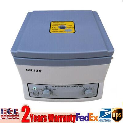 Sh120 Medical Lab Micro-hematocrit Centrifuge High Speed Centrifuge 12000rmin