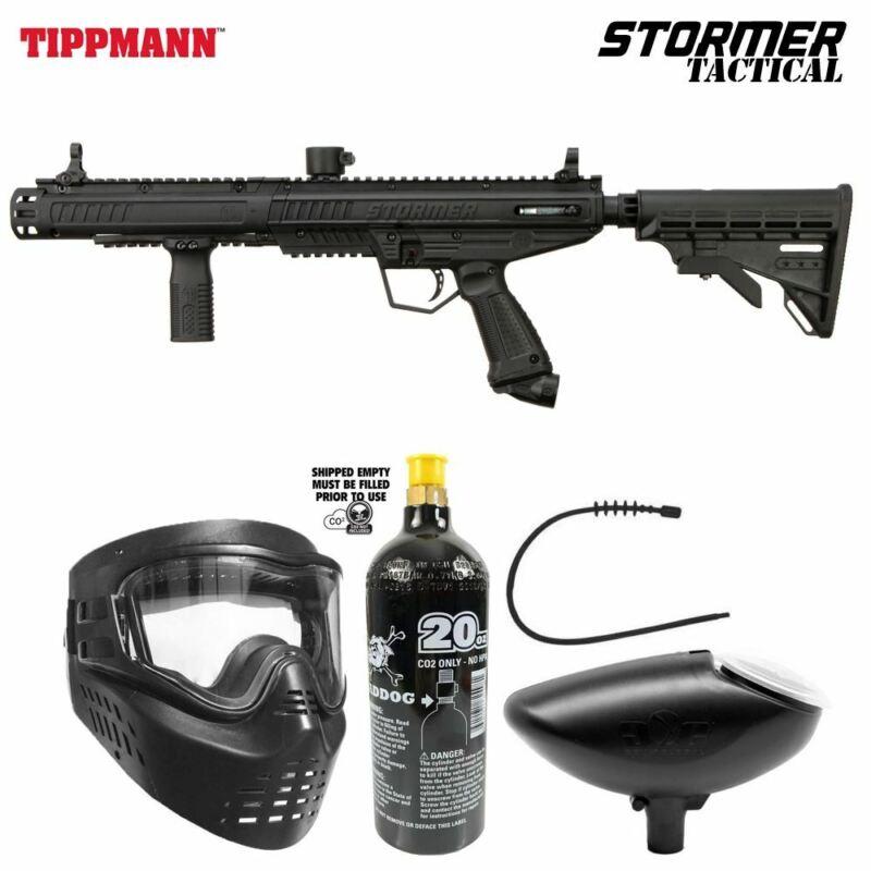 Maddog Tippmann Stormer Tactical Bronze Paintball Gun Marker Starter Package