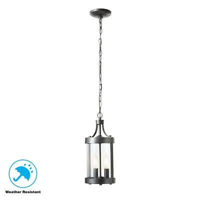 $100 Home Decorators Collection-Caged Aged Iron Outdoor 2-Light Hanging Lantern Iron Outdoor Hanging Lantern