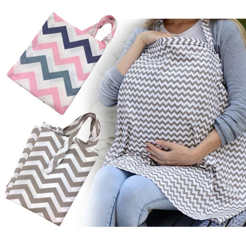 Multi Use Baby Car Seat Cover Breastfeeding Nursing Scarf Blanket Full Coverage