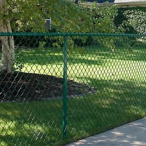 35 ' Fencing with posts, hardware and gate