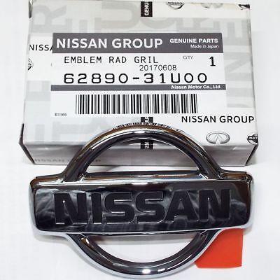 Genuine Nissan 180sx 240sx S13 Front Emblem Badge 95-96 Maxima 95-98 Sentra OEM