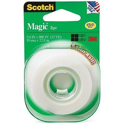 Scotch Magic Tape Refill Roll 34 X 900 1 Ea Pack Of 2